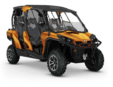 can am commander 2016 can am commander max family atv illustrated