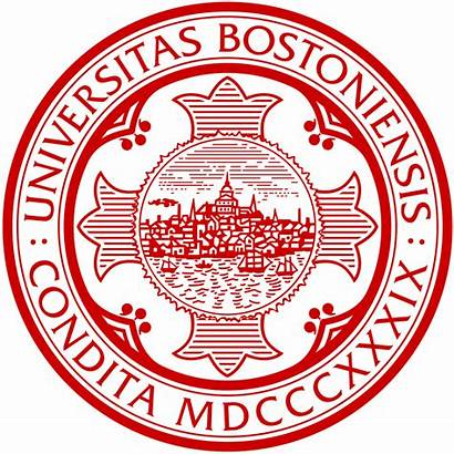 Boston Seal University Svg Pixels College Wikimedia