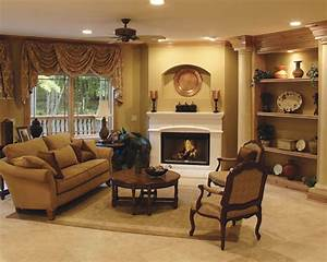 Corner fireplace furniture placement home decor report for Home decor furniture placement