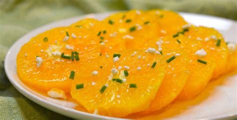 Sallatë me portokall - Receta Kuzhine