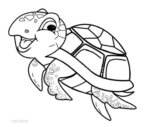 Turtles Free Coloring Pages Free A Turtle Coloring Pages