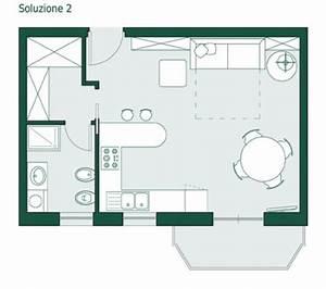 Arredare Monolocale 35 Mq ~ Tutte le Immagini per la Progettazione di Casa e le Idee di Mobili