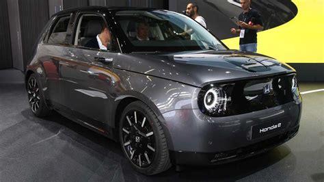 honda 2020 electric 2020 honda e electric car everything we