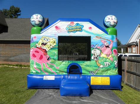 Spongebob Bounce House Inflatable Moonwalk From Laugh N