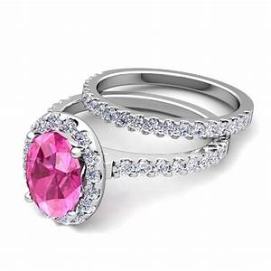 create your own halo engagement ring bridal set in pave With build your own wedding ring set