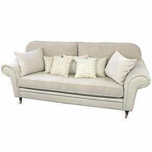 2 Sitzer Sofa Landhausstil : 3 sitzer sofa 39 roswell 39 im landhausstil ihr onlineshop ~ Bigdaddyawards.com Haus und Dekorationen