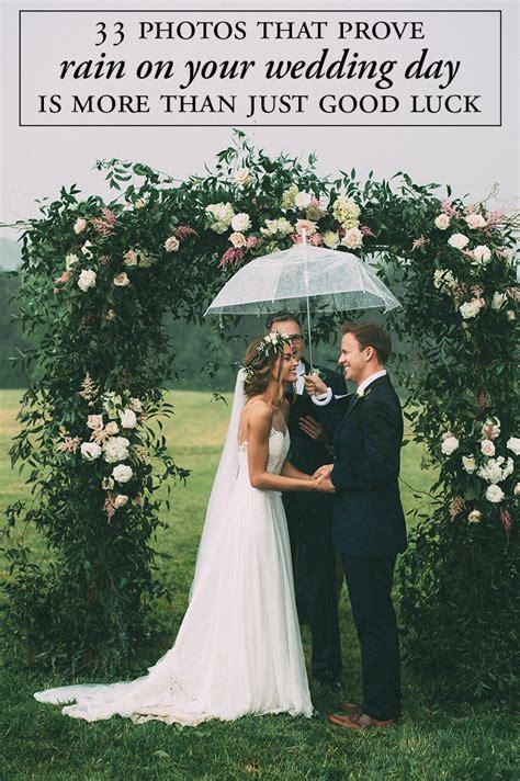 prove rain   wedding day