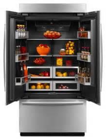 Jenn-Air Refrigerator Black Obsidian Interior