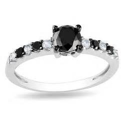 white gold black engagement ring black white engagement ring engagement rings review