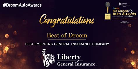 We're here to help get you back up and running. Liberty General Insurance - Best Emerging General Insurance Company | Droom
