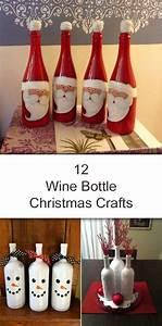 12, Amazing, Wine, Bottle, Christmas, Crafts