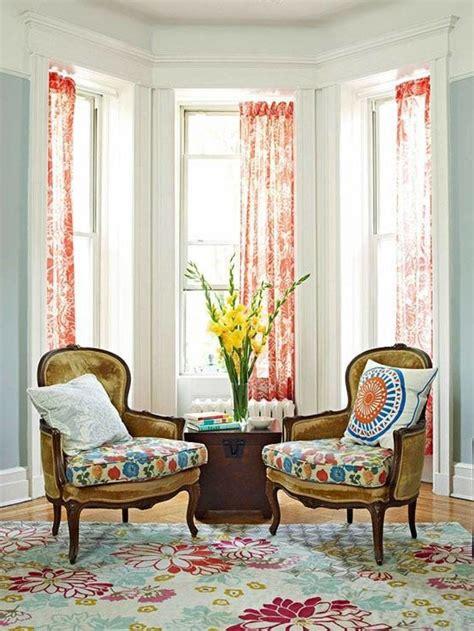 interior bay window ideas with modern interior