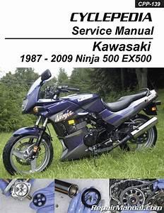 Kawasaki Ex500 Ninja 500 Cyclepedia Printed Motorcycle