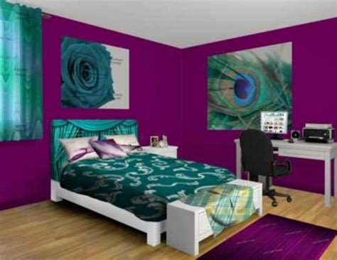 Teal & Purple...one Of My Favorite Color Combinations