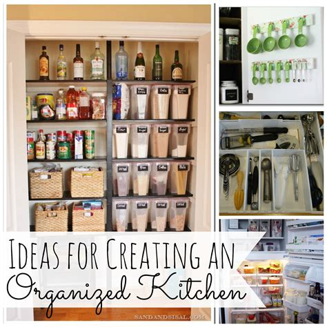 organized kitchen ideas ideas for creating and organized kitchen my for words