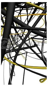 3D Abstract Lines Royalty Free Stock Image | Stock Photos ...