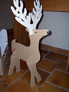 Renne En Carton : bricolage noel carton my blog ~ Melissatoandfro.com Idées de Décoration
