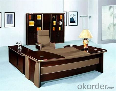 modern luxury office executive desk table real