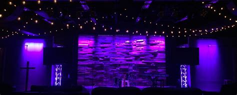 youthful pallets church stage design ideas
