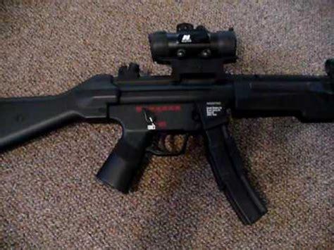 hk mp custom submachine gun airsoft youtube