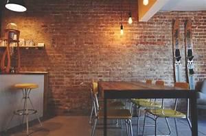Mur En Brique Intérieur : rev tement mural la brique et ses imitations soumission renovation ~ Melissatoandfro.com Idées de Décoration