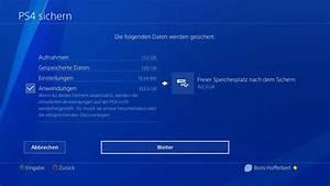 Playstation 4 Spiele Auf Rechnung : anleitung ps4 backup sicherung der playstation 4 auf externer festplatte erstellen der tutonaut ~ Themetempest.com Abrechnung