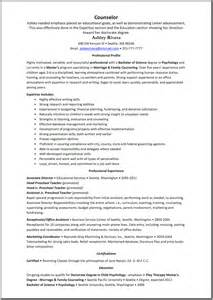 sle guidance counselor resume it field technician cover