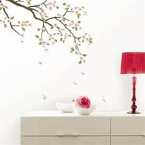 stickers muraux fleurs sticker cerisier en fleurs With chambre bébé design avec envoyer des fleurs a londres