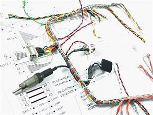 Perfect Wire Harness Drawing Sketch Electrical Circuit