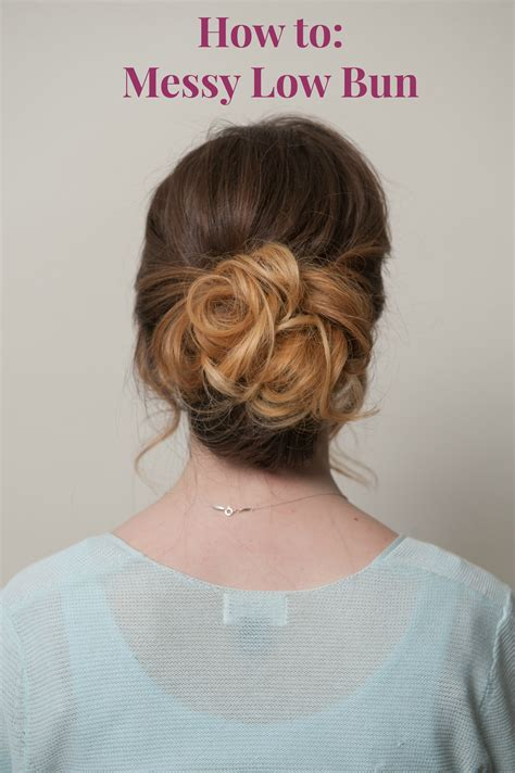 hair how to chic low bun tutorial politics of pretty