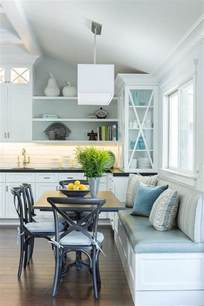 eat in kitchen furniture eat in kitchen with built in dining bench transitional kitchen