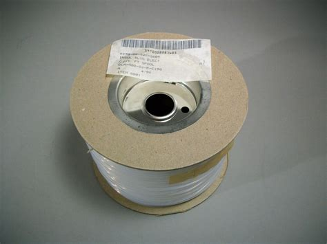 awg electrical insulation sleeving  ft clear  ebay