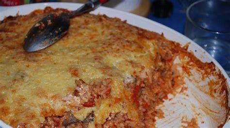 cuisiner reste de riz recette économique les restes de riz en gratin