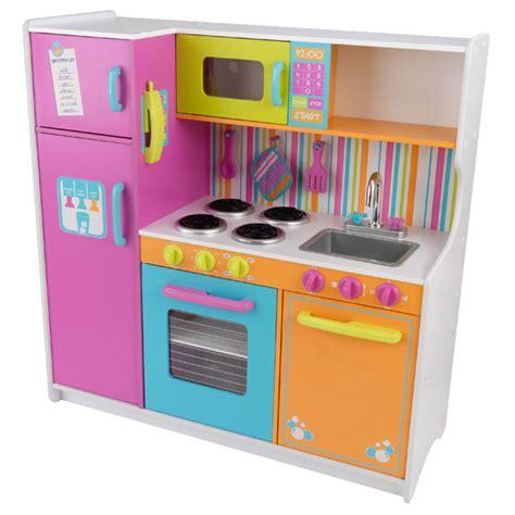 jeux de cuisine de luxe grande cuisine de luxe aux couleurs vives kidkraft king