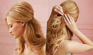Coiffure Pour Noel : coiffure noel cheveux mi long facile coiffure femme ~ Nature-et-papiers.com Idées de Décoration