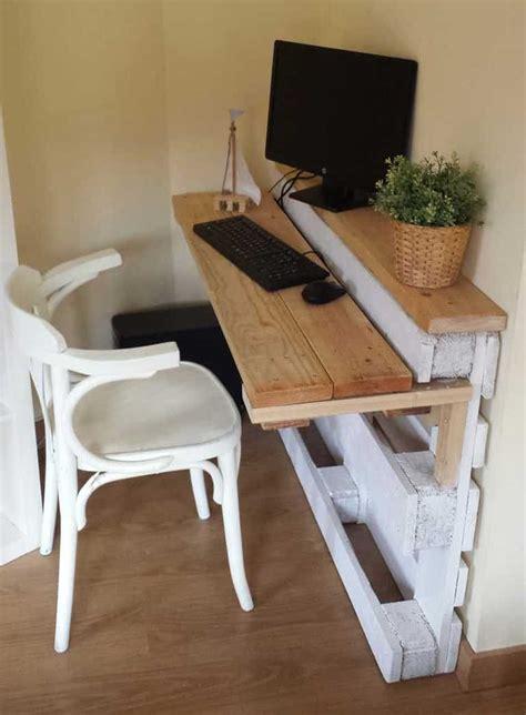 faire un bureau en bois plan pour fabriquer un bureau en bois maison design