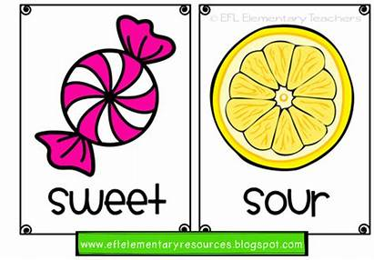 Flashcards Adjective Esl Adjectives Elementary Kindergarten