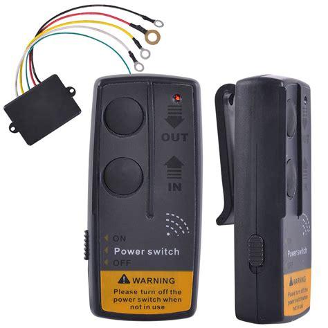 le exterieur avec telecommande telecommande sans fil universelle pour treuil avec recepteur 12v ebay