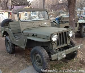 Vintage Jeep Military Vehicles