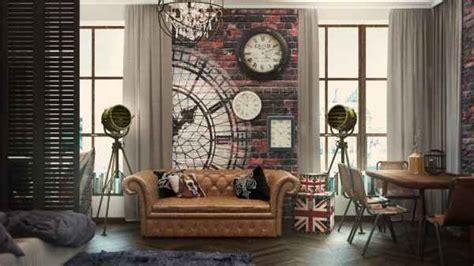 стиль лофт в интерьере маленькой квартиры студии