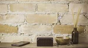 Schoonmetselwerk muur met vocht ( schimmel ) plekken schildere