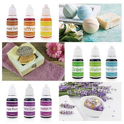 colors liquid soap dye kit food grade skin safe vegan