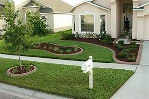 Front garden ideas architectural design for Front yard garden layout