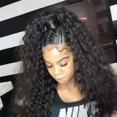 Half Sew In Weave Hairstyles by Teethegeneral H A I R Goals Hair Styles