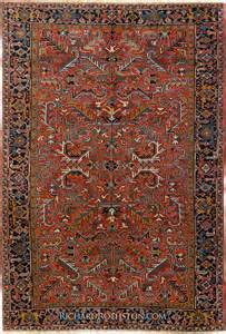 Oriental Carpet Pillows by Traditional Heriz Persian Rug C54i0562