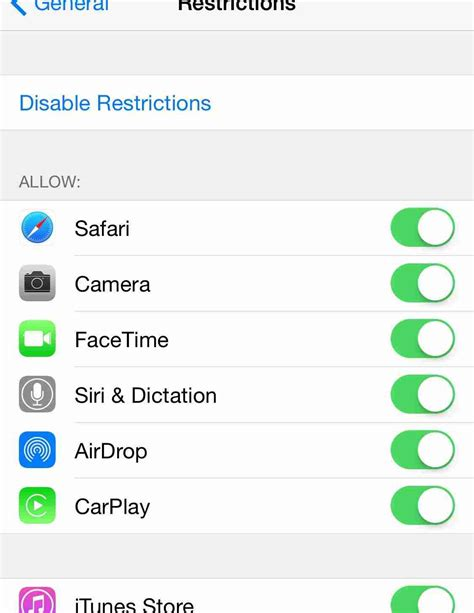 how to undisable an iphone without itunes how to enable parental controls for itunes and ibooks How T