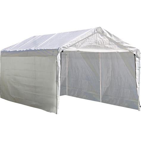 shelterlogic enclosure kit  super max  ft   ft white canopy canopy  frame