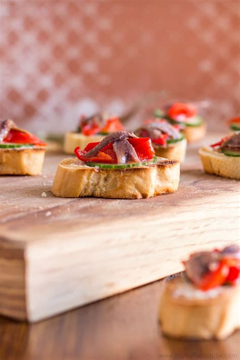 light hors d oeuvres anchovy hors doeuvres with marinated roasted peppers