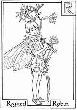 Fairy Coloring Fairies Pages Flower Colouring Printable Letter Boy Robin Alphabet Adults Ragged Adult Spring Books Sheets Getcolorings Holding Hands sketch template
