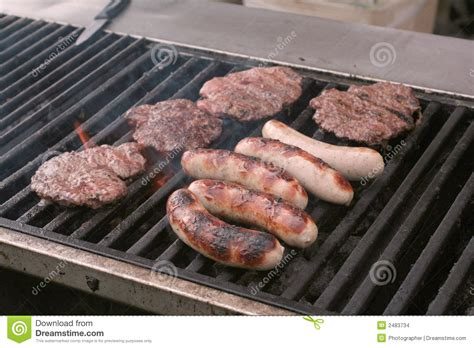 grille cuisine food on grill stock photo image of food heat